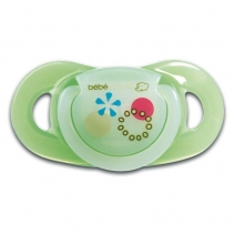 Bebe Confort Chupeta Dental Safe Látex T0 Verde