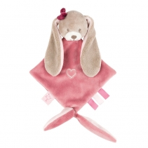 Nattou Mini Doudou Nina the Rabbit