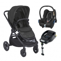 Bebe Confort Duo Adorra CabrioFix Black c/Base