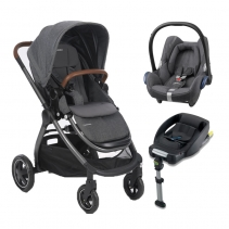 Bebe Confort Duo Adorra CabrioFix Grey c/Base
