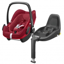 Bebe Confort Pack Pebble Plus Robin Red