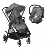 Cybex Duo IRIS M Aton 5 Manhattan Grey