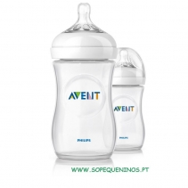 Phillips AVENT Biberão Natural 260 ml - Pack 2